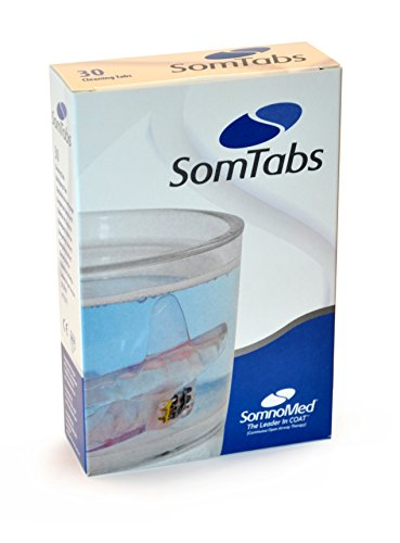 SOMTABS - 30 Oral Appliance, Denture, Retainer, and Mouthguard Cleaning Tablets