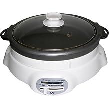 Sunpentown ST-360 1200-Watt 4-1/2-Liter Cooker with Shabu-Shabu Pot and Grill pan