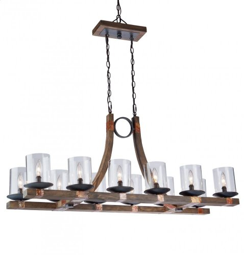 Artcraft Lighting Hockley 12-Light Chandelier