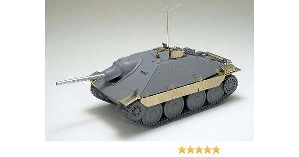 Tamiya Destructor de tanques Hetzer Mid Production Tipo 1/35 Escala Limitada Serie 25156 Alemania (con piezas grabadas fabricadas por Disponibilidad) ...