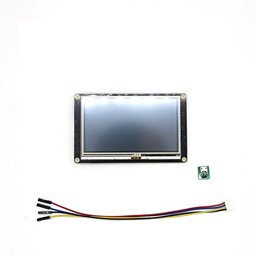 4.3 inch Nextion Enhanced USART HMI Touch Display for Arduino Raspberry Pi 5V input WishIOT by WishIOT (Image #4)