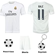 Ultimate Youth Soccer Fan Gift Set including Jersey and Shorts Kit