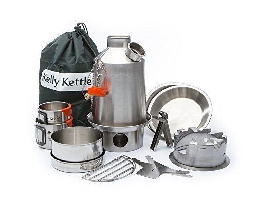 Ultimativ 'Scout' Kelly Kettle Zelten Kit Edelstahl/Bild:Amazon.de