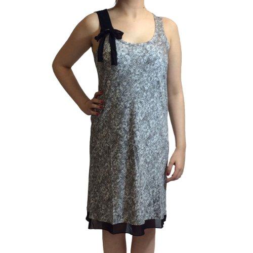 Grau Arm ohne Nachtkleid Damen YI2313232 Grau DKNY A7wPpn0