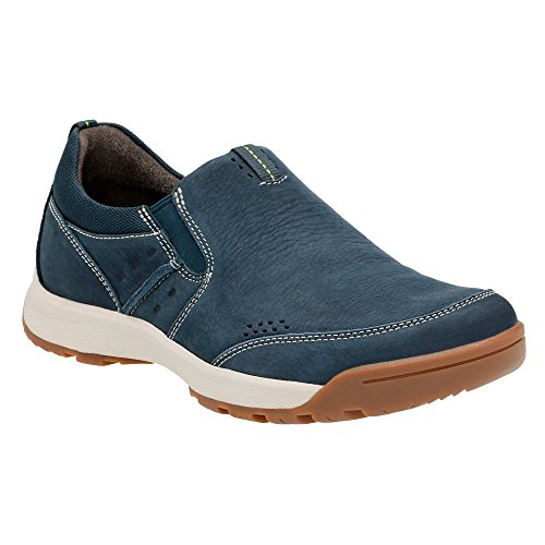 Wave Driver (Clarks Men's Wave Scree Step Slip On,Navy Nubuck,US 12 M)