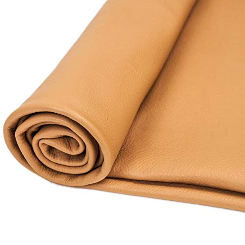 Springfield Leather Company Sensation Upholstery Leather Hides (Camel)