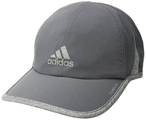 (adidas Men's Superlite Relaxed Adjustable Performance Cap, Onix/Light Heather Grey, One Size)