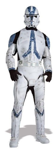 Deluxe Clone Trooper Adult Costume - X-Large - Adult Clone Trooper Costumes