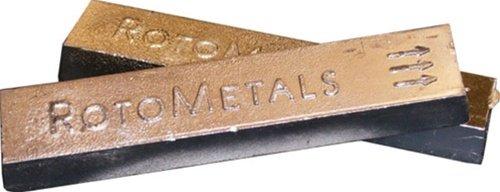 Royal Lead Base Babbitt Ingot Grade 8 by Roto Metals