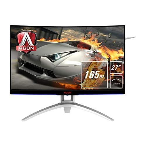 chollos oferta descuentos barato AOC Agon AG272FCX6 Monitor 27 Curvo FHD resolución 1920 x 1080 Pixeles Contraste 3000 1 4 ms FreeSync FlickerFree LowBlue Altavoces VESA HDMI Displayport