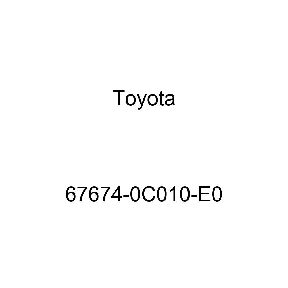 Toyota 67674-0C010-E0 Door Frame Garnish