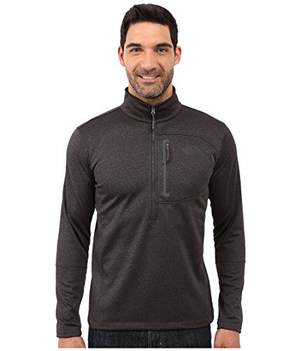 - The North Face Men's Canyonlands Half Zip - TNF Dark Grey Heather - M