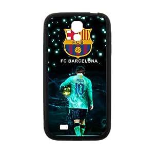 FCB Messi Black galaxy s4 case