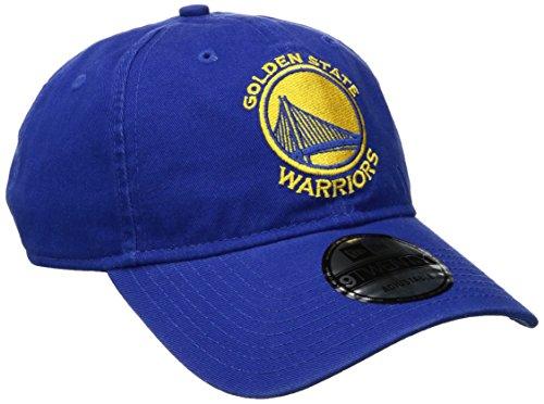 New Era NBA Golden State Warriors Core Classic 9Twenty Adjustable Cap, Royal, One Size (Golden State Warriors New Era)