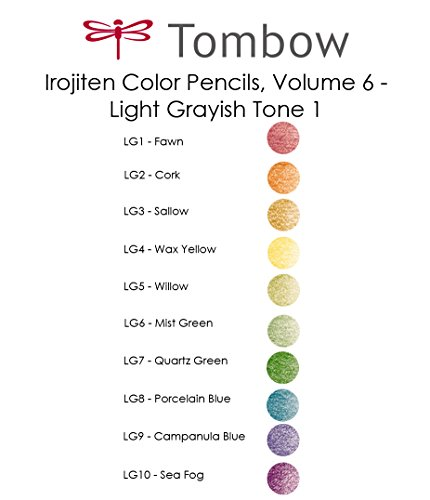 Tombow Irojiten Colored Pencils, Woodland, 30-Pack by Tombow (Image #7)