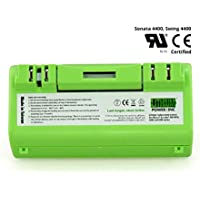 Lithium Scooba Replacement Battery For iRobot Scooba 300, 3000, 5000 and 6000 Series, 6600mAH (4X Battery Life) - UL&CE Certified Battery Component