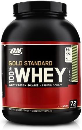 100% Whey Gold Estándar Proteína, CHOCOLATE MENTA masa ...