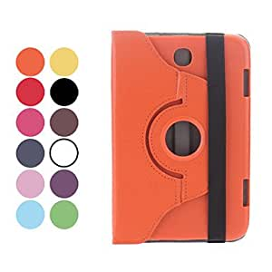 Bkjhkjy Rotatable Leather Case with Stand for Galaxy Note 8.0 N5100 (Assorted Colors) , Black