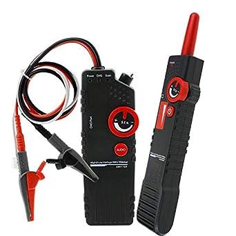 Danoplus AC400V - Detector de cable de alimentación de alta y baja tensión, anti-atascos, con pinza de cocodrilo: Amazon.es: Amazon.es