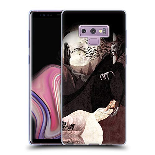 Official Anne Lambelet Dracula Eerie Soft Gel Case for Samsung Galaxy Note9 / Note 9