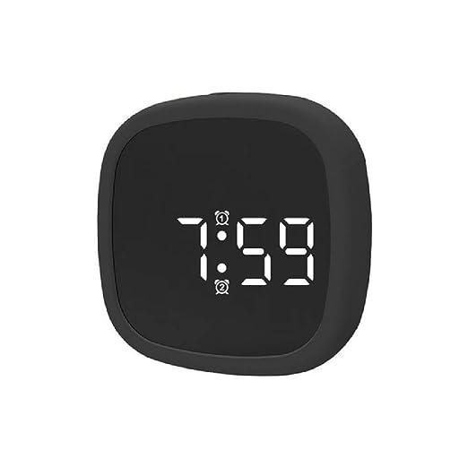 CRGH Reloj Despertador Digital Alarma Pantalla LED Fecha ...