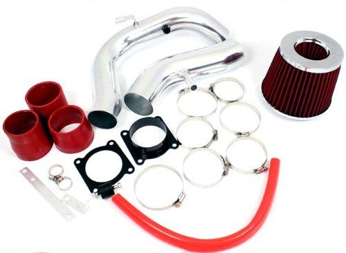 02 03 04 05 06 Nissan Sentra SE-R / Spec V 2.5L Cold Air Intake Red (Included Air Filter) (Nissan Spec)