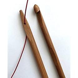 7 pcs knook crochet hooks needle hooks needles eye 3.5mm to 6.5mm knooking set