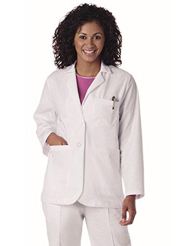 Landau Labwear Women's Consultation Coat White 4