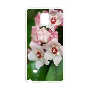 Samsung Galaxy Note 4 Cases Flower 263 Hardshell for Girls, Case for Samsung Galaxy Note 4 Case Hardshell for Girls [White]