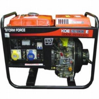 Bulldog BDE3500E Diesel Generator 3KW with Electric Start