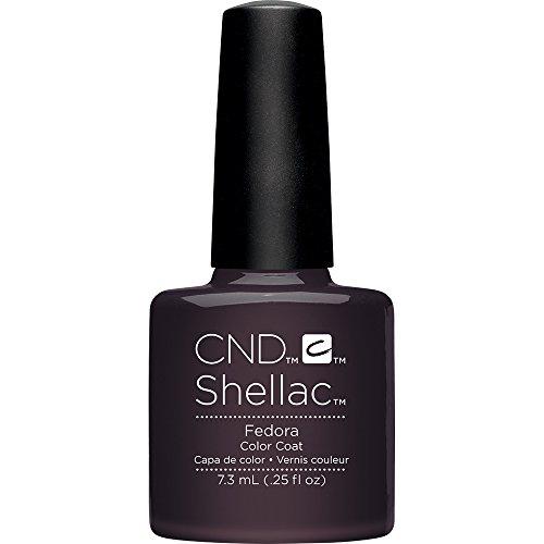 CND Shellac Nail Polish, Fedora, 0.25 fl. oz.