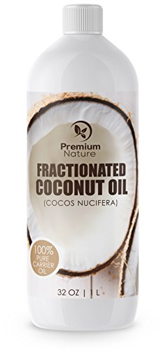 Cheap Fractionated Coconut Oil Massage Oil – Cold Pressed Pure MCT Oil for Essential Oils Mixing Dry Skin Moisturizer Natural Carrier Baby Oil for Face Hair & Body Therapeutic Aromatherapy Virgin Raw 32 oz