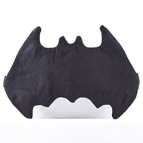 Linen Batman Sleep Mask, Super Hero Mask, Cute Gift for Her, Marvel Accessories, Sleepover Party Supplies, Black Mask, Gift Ideas for Mom Birthday, Batman (Masks Ideas)