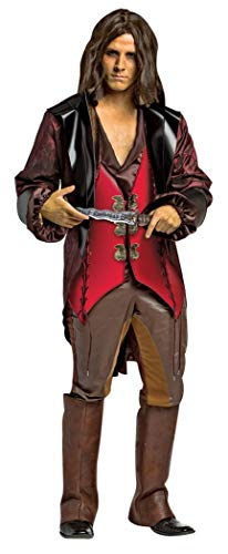 Once Upon A Time Hook Halloween Costumes (Rasta Imposta Men's Plus-Size Once Upon A Time Rumpelstiltskin, Red/Brown,)
