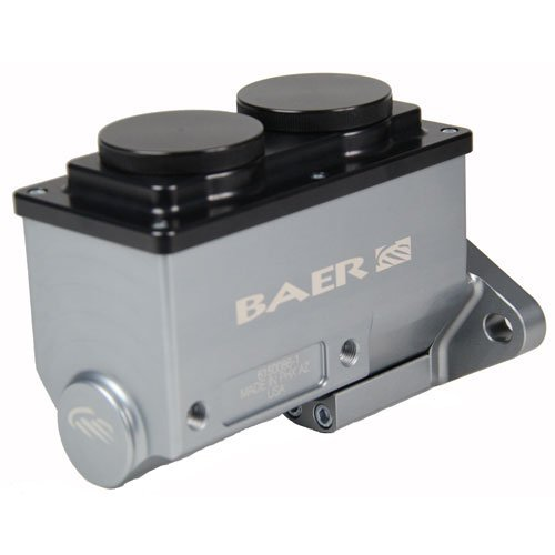 Remaster Hard Anodized Right Port 15//16 BAER BRAKES 6801262RP-BKCZ Brake Master Cylinder