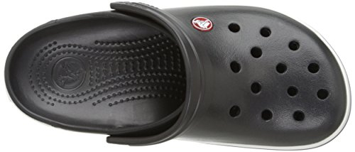 Crocs CR. 11016, Zoccoli Unisex – Adulto Nero (Black)