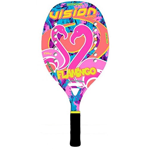 Vision Pala de Tenis Playa FLAMINGO 2018: Amazon.es: Deportes y ...