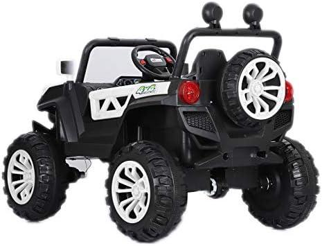 ATAA Buggy Rodeo 4x4 - Blanc-Voiture électrique pour Enfant avec télécommande pour Parents Dimensions 126x86x81cm Batterie 12v et Deux sièges