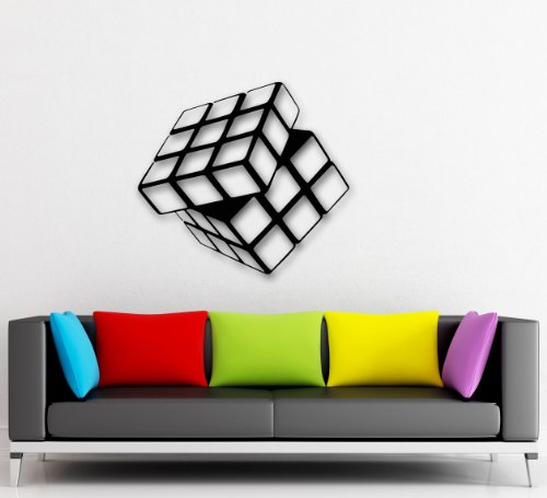 Wall Stickers Vinyl Decal Rubik's Cube For Living Room Arts (ig1540)