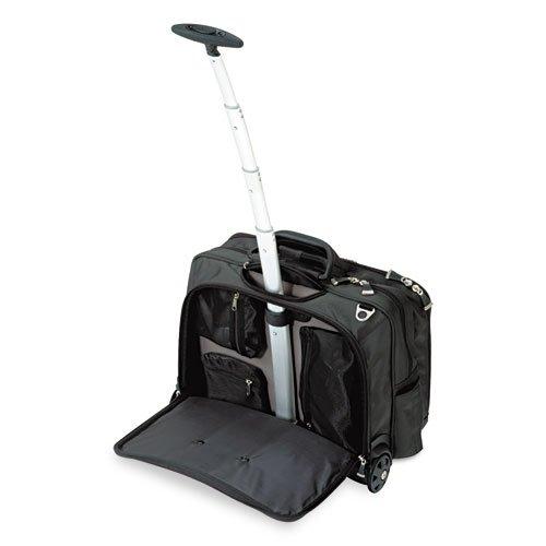Contour Rolling Laptop Case, Nylon, 17-1/2 x 9-1/2 x 13, Black by Kensington (Image #1)