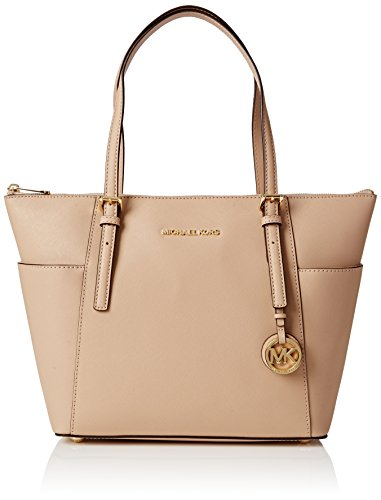 MICHAEL Michael Kors Jet Set Top-Zip Tote (Oyster) - Michael Kors Boutique