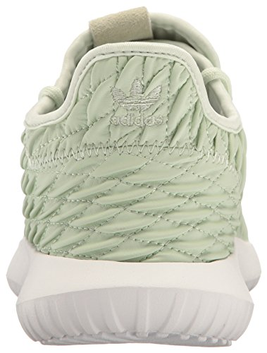 Adidas Originali Da Donna Tubular Shadow Fashion Sneakers In Lino Verde Verde / Bianco
