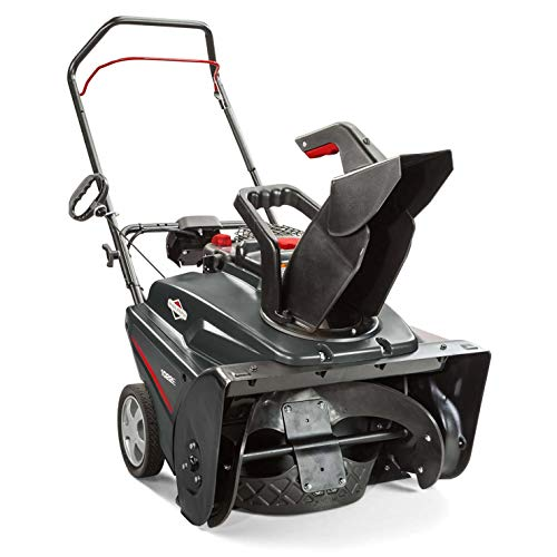 Briggs & Stratton 1022ER Single Stage Snowthrower Snow Thrower, 208 Cubic cm
