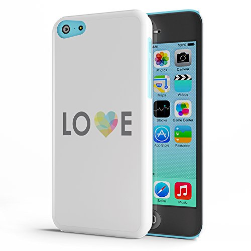 Koveru Back Cover Case for Apple iPhone 5C - Love with a heart