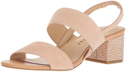 Katy Perry Women's The Annalie Heeled Sandal, Blush Nude, 8.5 Medium US