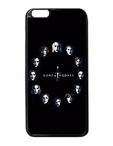 "Game Of Thrones Faces - Custom Image Case iphone 6 -5.5 inches case , Diy Durable Hard Case Cover for iPhone 6 Plus (5.5"") , High Quality Plastic Case By Argelis-Sky, Black Case New"