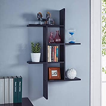 Onlinecraft Wall Shelf Wall Rack Wall Shelves For Home Decor Living Room Decor Office Decor Wall Decor Amazon In Home Kitchen