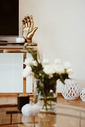 Kare Design Objet de d/écoration Mano objet d/écoratif en forme de main 35 x 23 x 12 cm 23 x 12 x 35 or