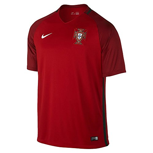 Portugal Replica Jersey (Nike Kid's Portugal Home Stadium Soccer Jersey (Youth X-Large))