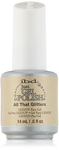 - IBD Just Gel Nail Polish, All That Glitters, 0.5 Fluid Ounce by IBD